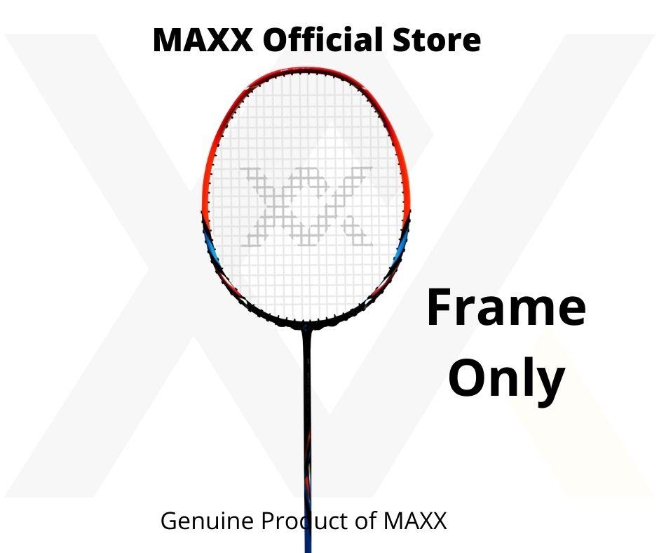 MAXX Super GTX Badminton Racket With High Rigidity Carbon Fibre, T30, Hotmelt Tech Professional 1 Pcs