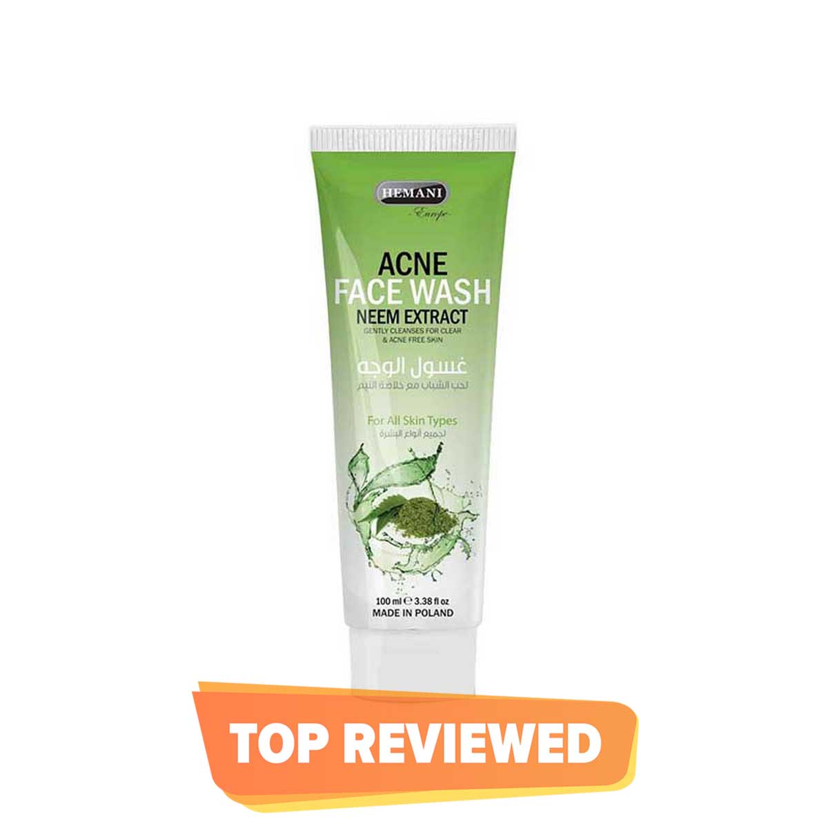 Hemani Acne Face Wash with Neem Extract
