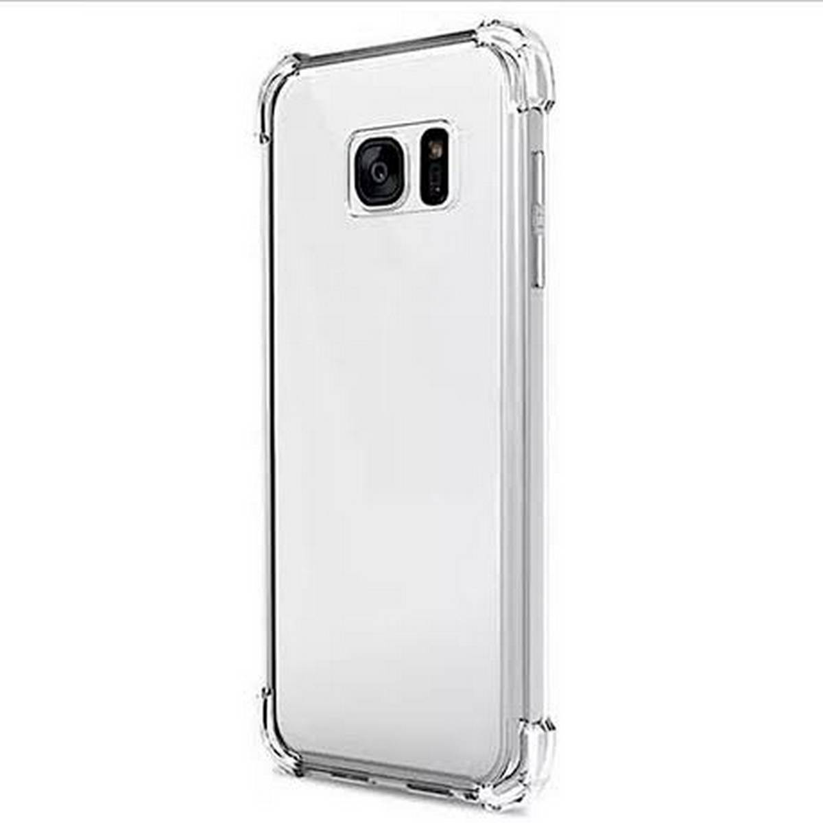 SAMSUNG NOTE 5 Soft Shock Proof Jelly Back Cover - Transparent