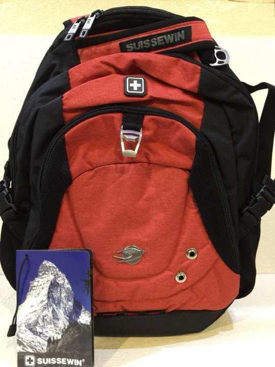 Suissewin bags quality laptop bag men backpack