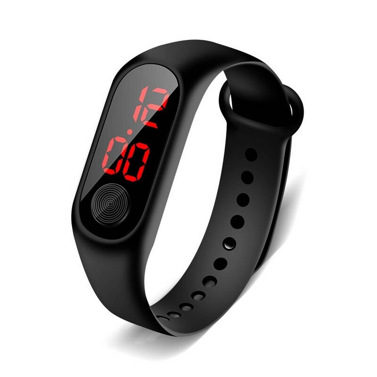New LED digital watch men women casual fashion sports bracelet watch girls boys electronic silicone Band watch Gym watch School watch for kids
