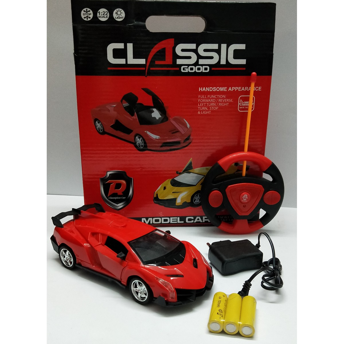 Premium Quality Remote Control Sports Model Car, Champion Car,  Full Function: Forward/Reverse/Turn Left and Right/ Stop, Excellent toy for kids/boys/girls, Newest articles imported China toys cars/ gifts, Cars, Trains & Bikes Toys