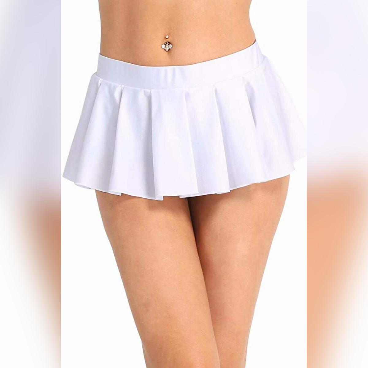 Skirts Store Knife Pleated Mini Skirt For Women - Night Dress - Skirt For Women