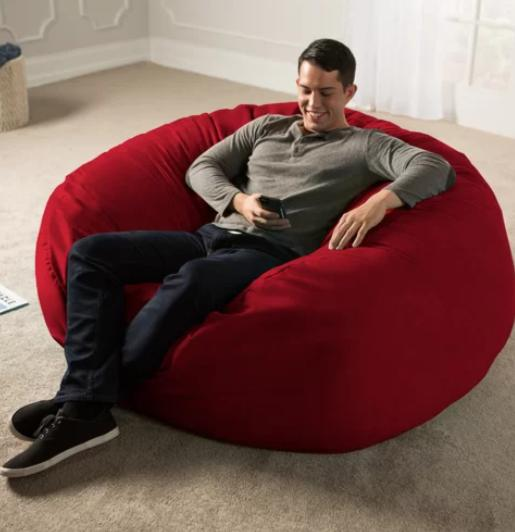 Excellent Xxxl Comfortable Bean Bag For Adults Teens Gigantic Size High Quality Office Room Ibusinesslaw Wood Chair Design Ideas Ibusinesslaworg