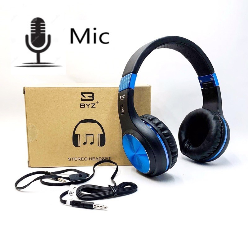Wired Headphone - with Mic for All Phones PC Gamer