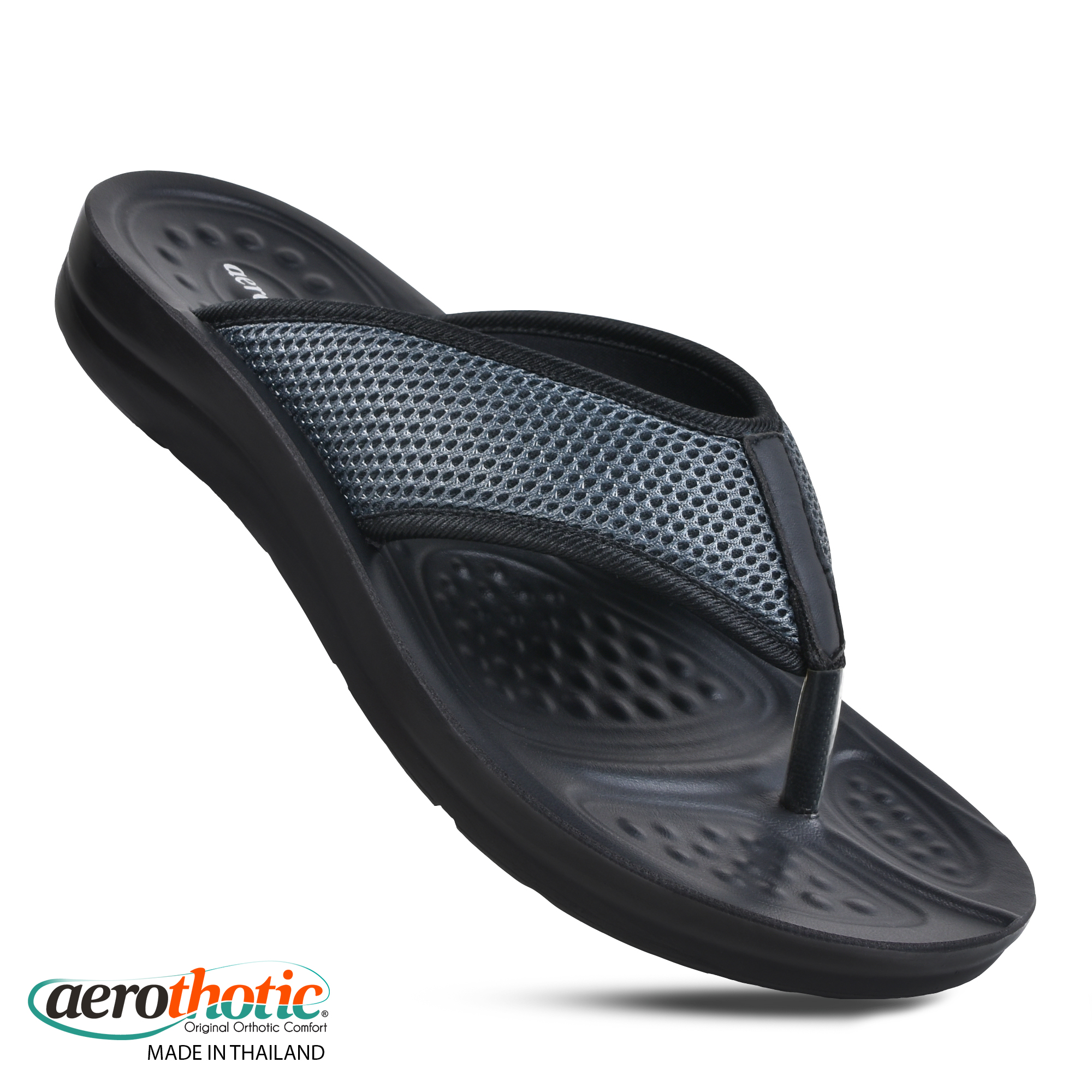 AEROTHOTIC Gents Ultra Soft Fashion Flip Flops - Original Thailand Imported - M0608