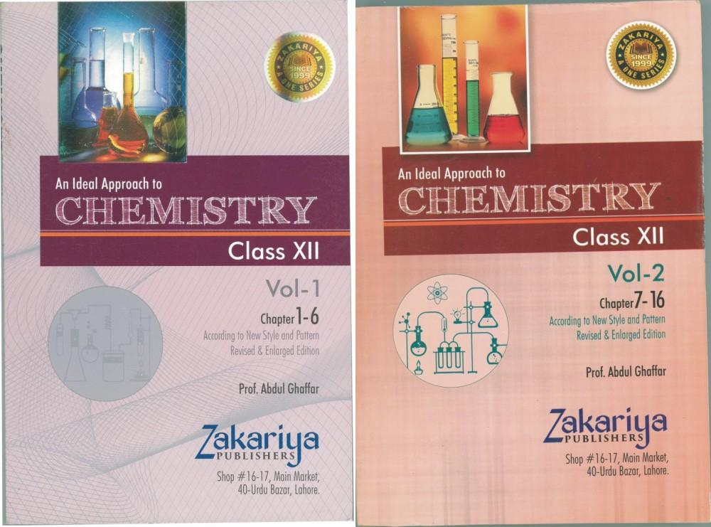 Chemistry Notes Class 2nd Year