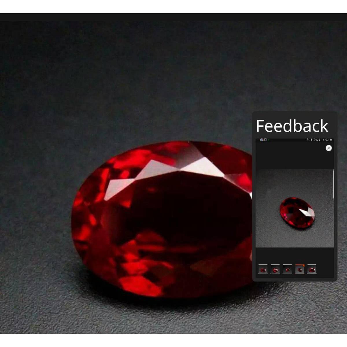 Anari Yaqoot Ruby Gemstone Weight 6.35 Carat With Free Surprise Gift