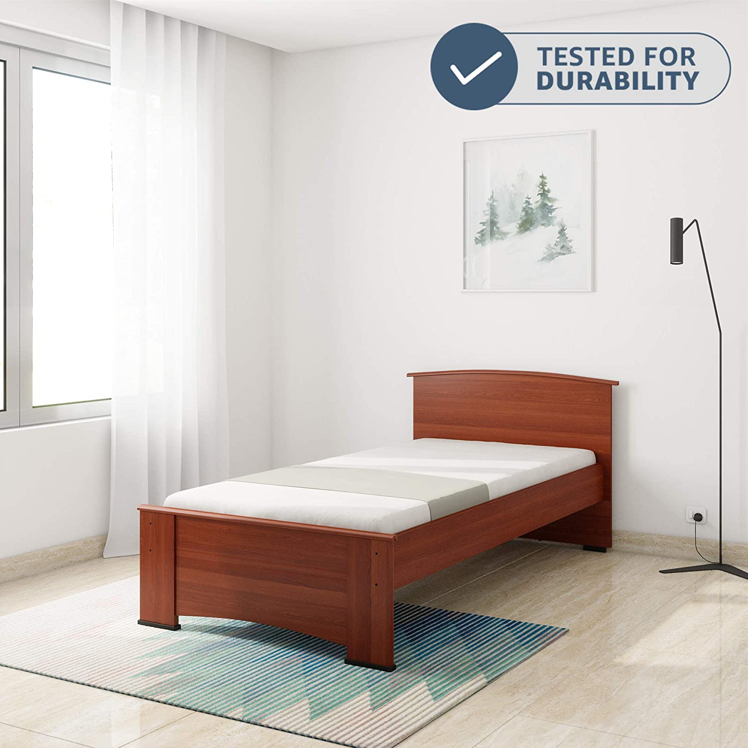 Revival Stylish Single Bed - Without Mattress