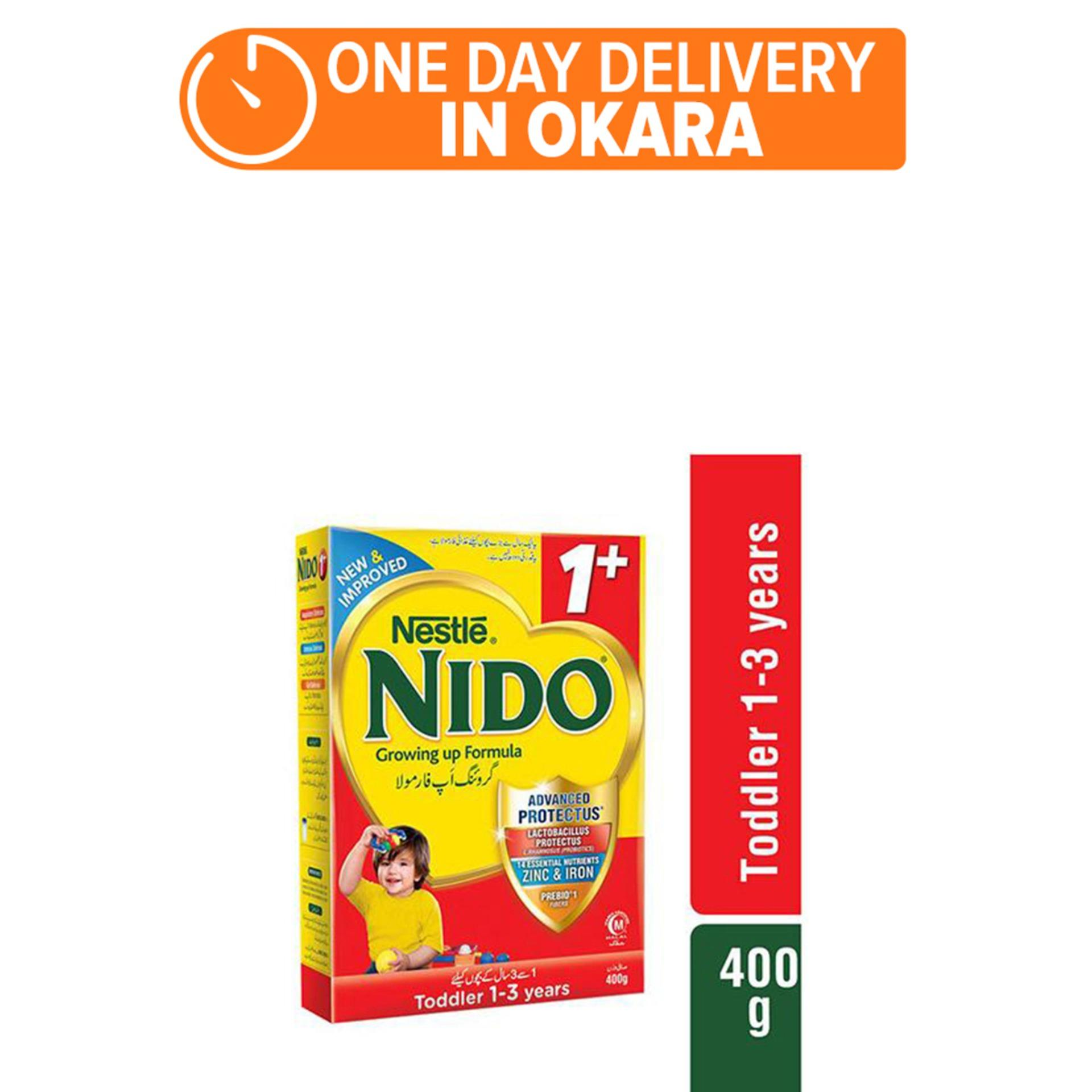 NESTLÉ NIDO 1+ 400g - Growing Up Formula (One day delivery in Okara)