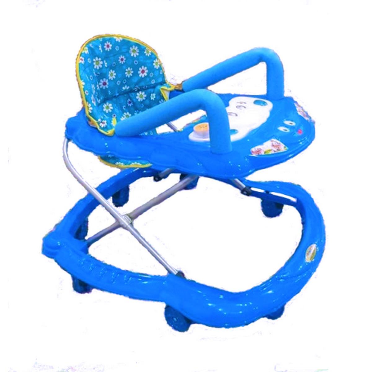 08 Wheel Foam Handle Music Tray Kids Walker  Baby walker in 03 colors for toddlers