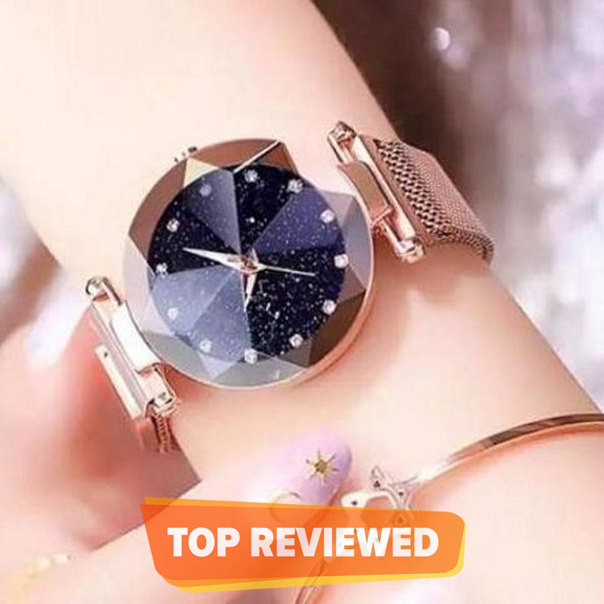 Best and Stylish Magnetic Clasp Wrist Watches For Women Girls