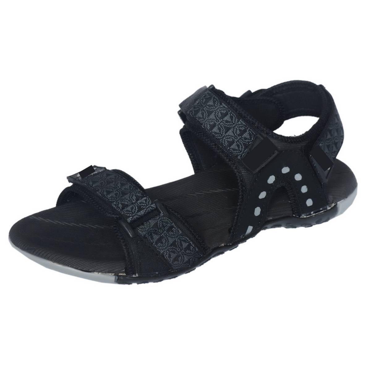 Easy Black Sandal for Men