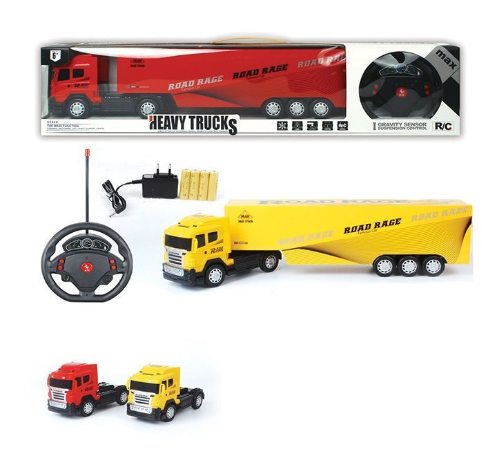 GRAVITY SENSOR SUSPENSION CONTROL HEAVY TRUCKS Heavy Truck R/C Remote Controller Rechargeable with Steering Remote Control Rechargeable Heavy Truck Toys For Kids