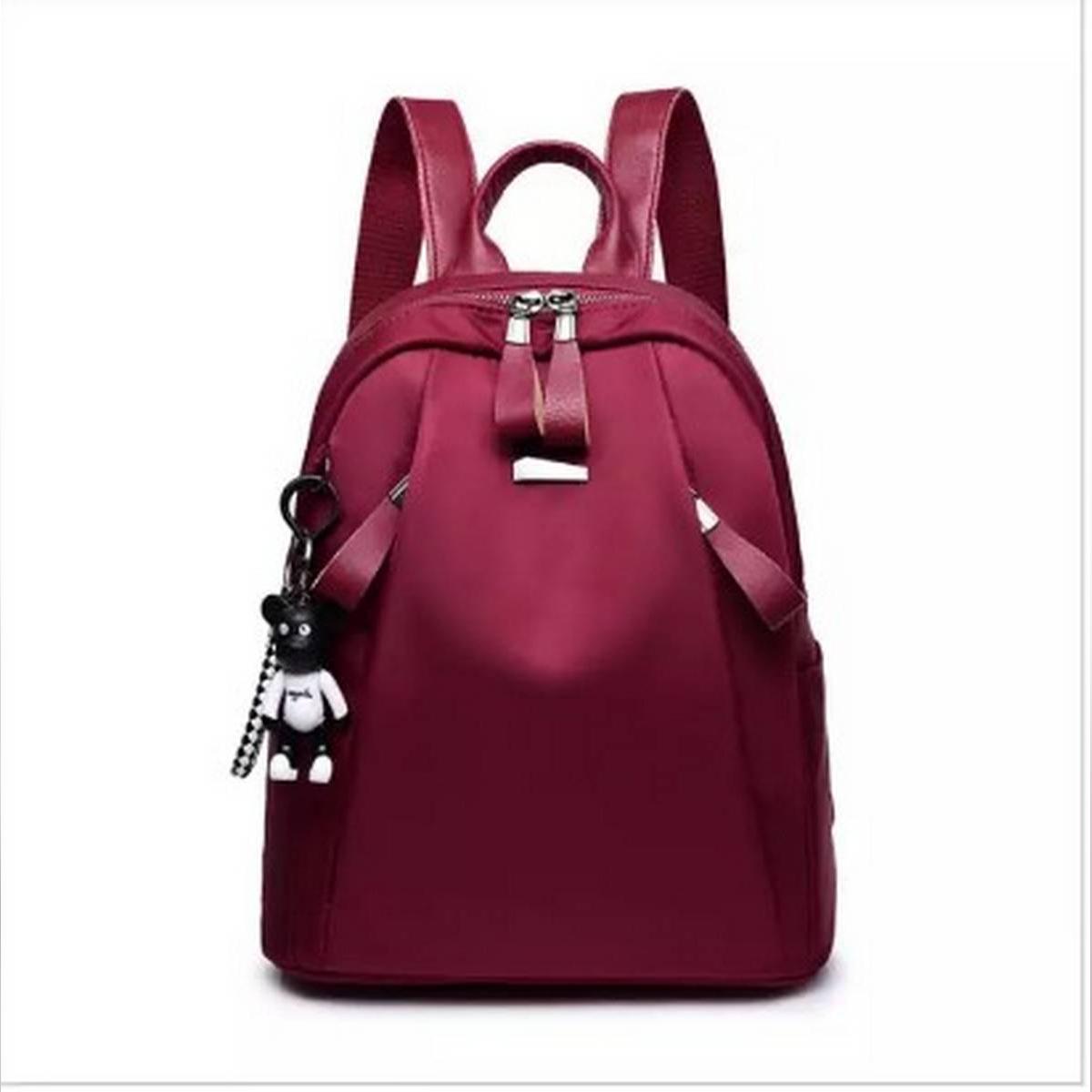 Stylish Custom Luxury Drawstring Girls College Bag, School Bag Women Daily Casual Backpack Bag