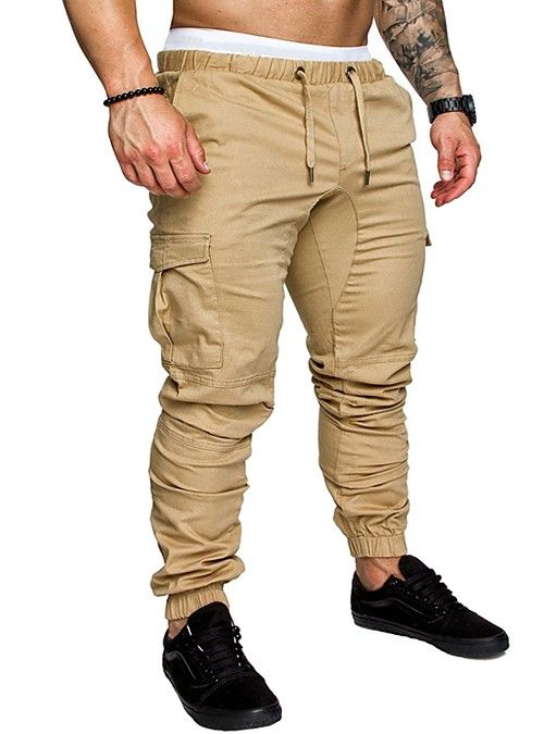 Men's New Fashion 6 Pockets Cargo Trousers