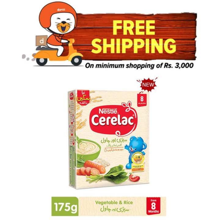 NESTLÉ CERELAC Spinach 175gm