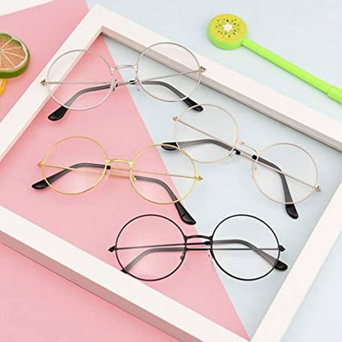 Harry Potter Round Glasses for Men/Women -  Spectacles for Unisex