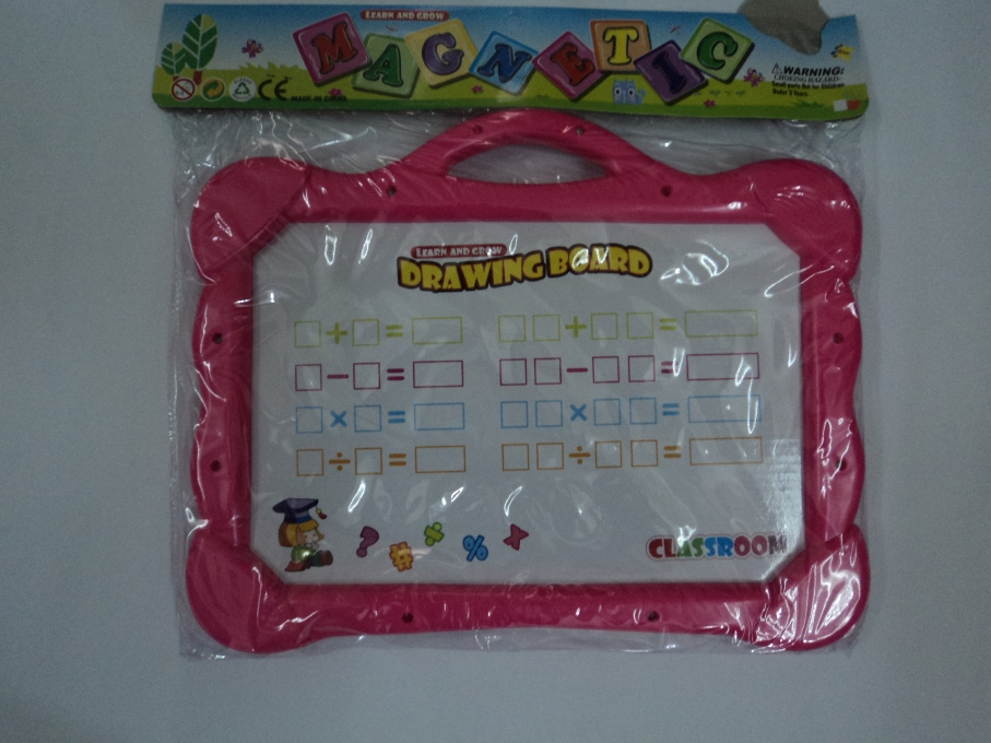 Learning Toys - Drawing Board - Magnetic Board with Alphabets & Numbers