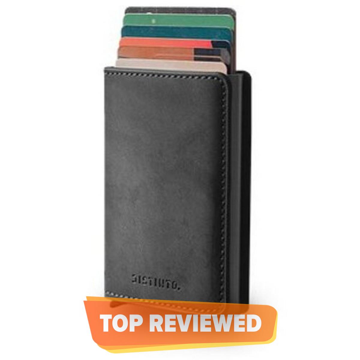 PU Leather Wallet For Men & Pop up card holder