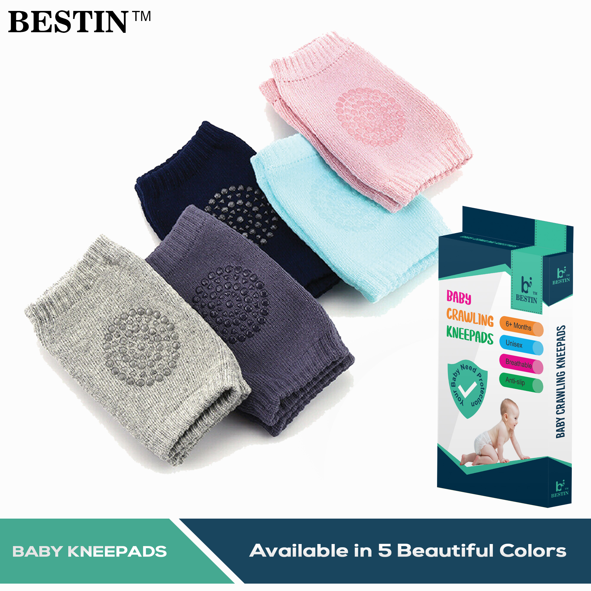Knee Pads for baby / Baby Knee Protector / Baby KneePads / Baby Crawling Kneepad / Baby Knee Protection.