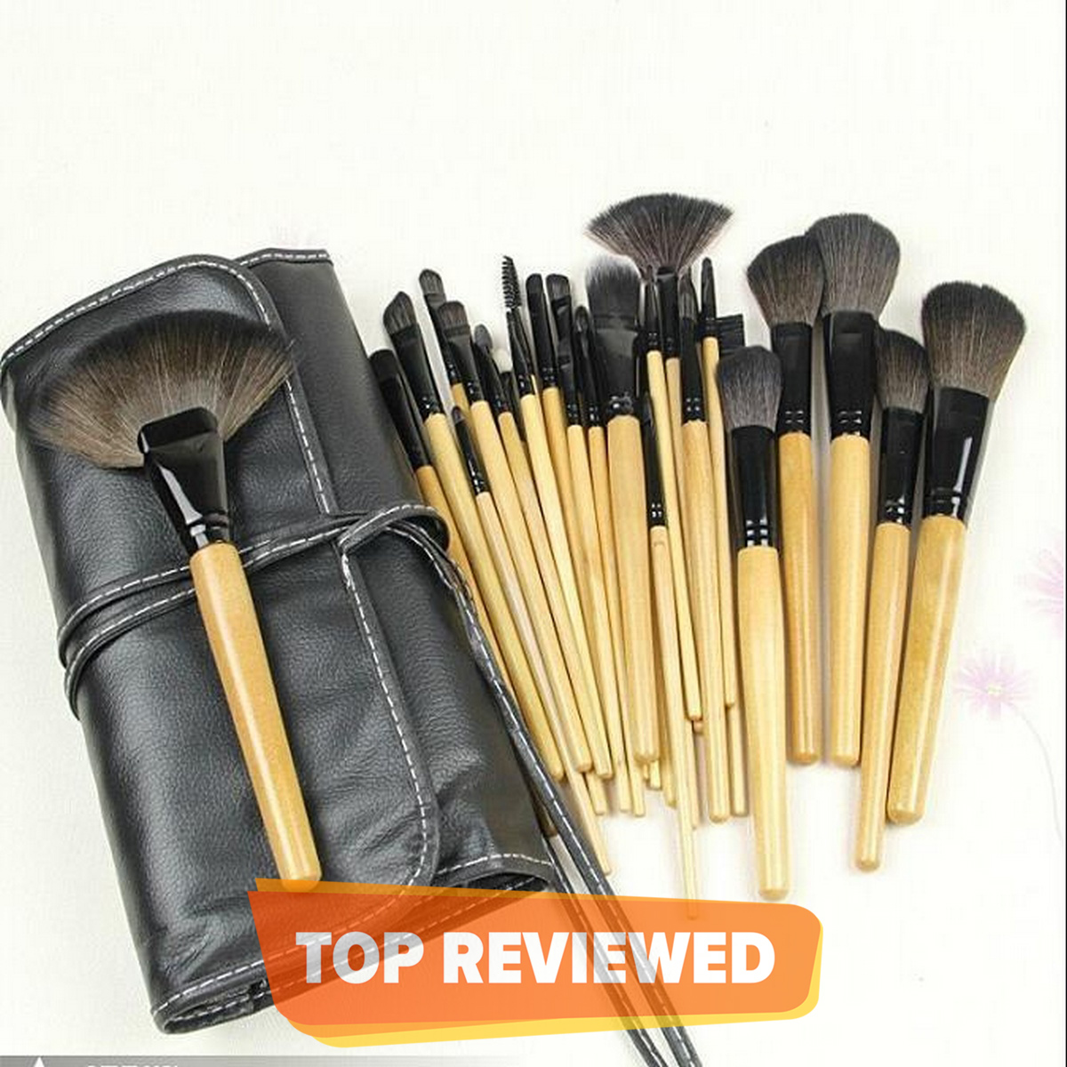 Pack Of 24 - Professional Cosmetic Make Up Brush Set