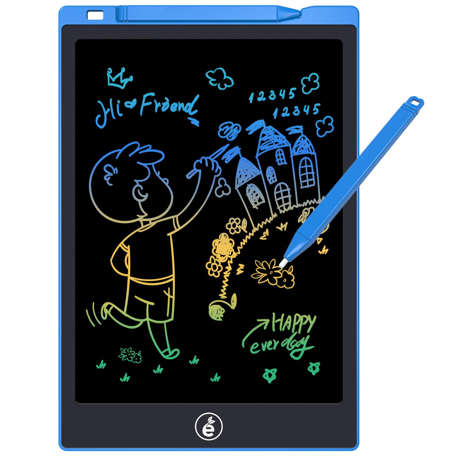 Original LCD Writing Portable Doodle Drawing Tablet Pad Durable Electronic Slate E-writer Digital Memo Pad Erasable Writing Board Learning toys and gadgets For Kids Babies & Adults - 8.5 inch - Monochrome