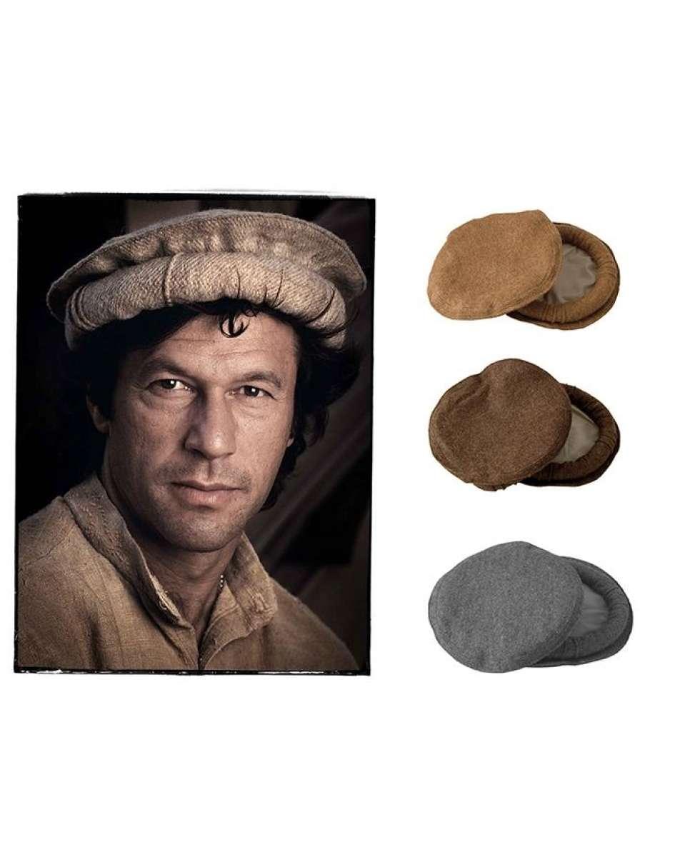c02f2610b Handmade Hat Chitrali 100% Wool Pakol Cap