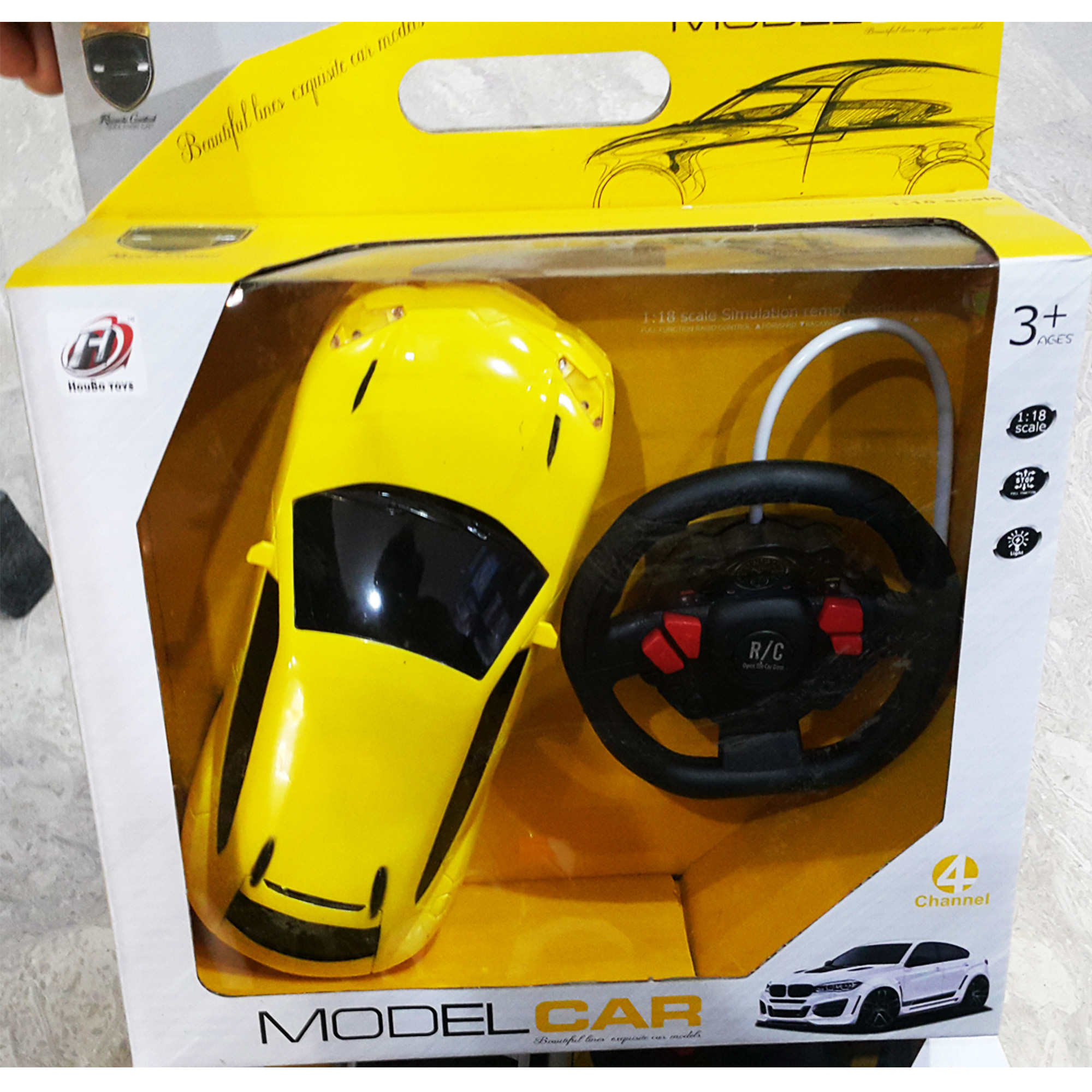 1:18 Steering Style Remote Control Car Full Function With Light - STNRC