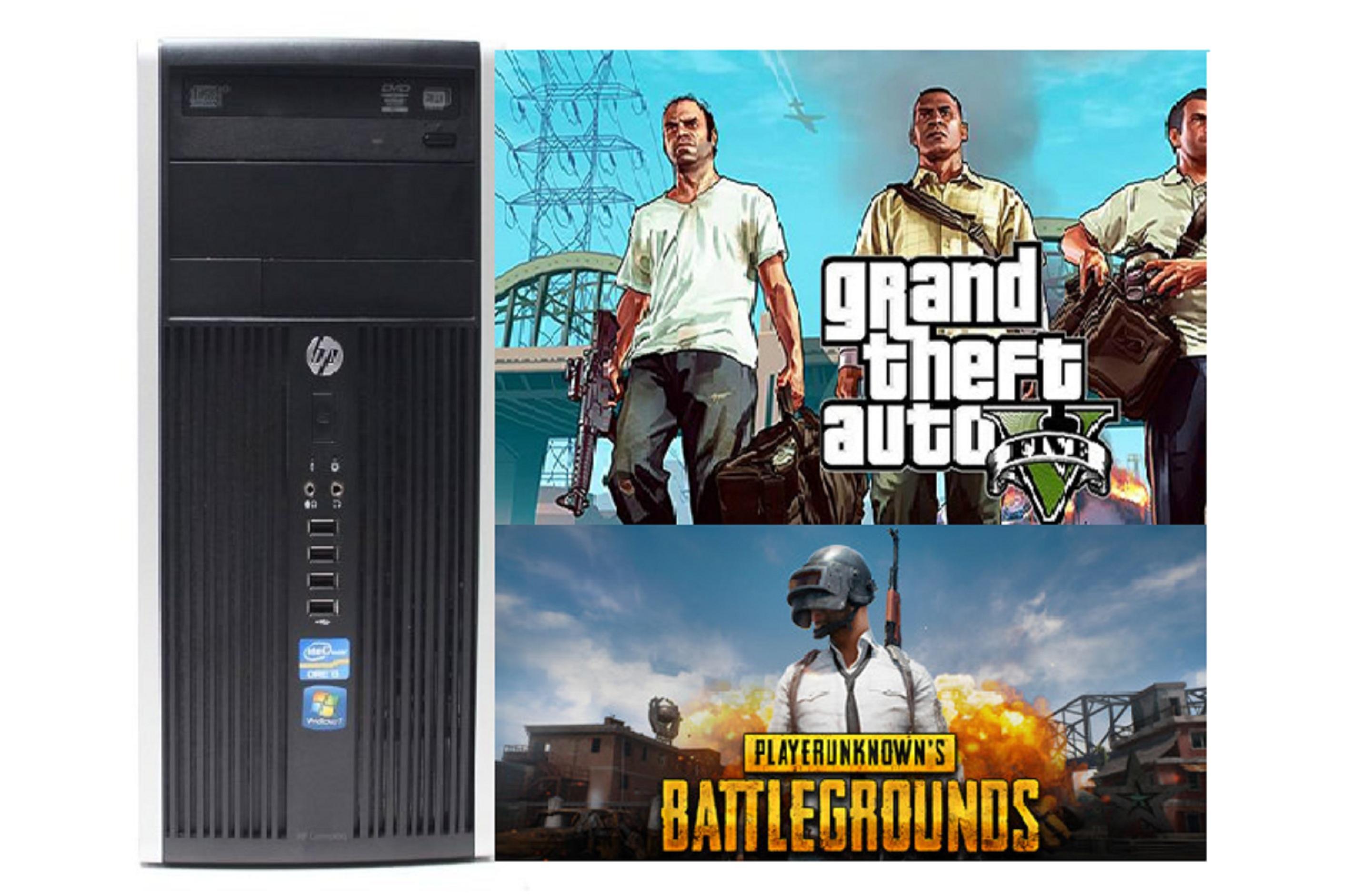 HP 6200 Pro Microtower PC (Intel Core i5 2nd Generation 4GB RAM DDR3, 500GB  HDD,DVDRW, 1 Gb Graphics Card