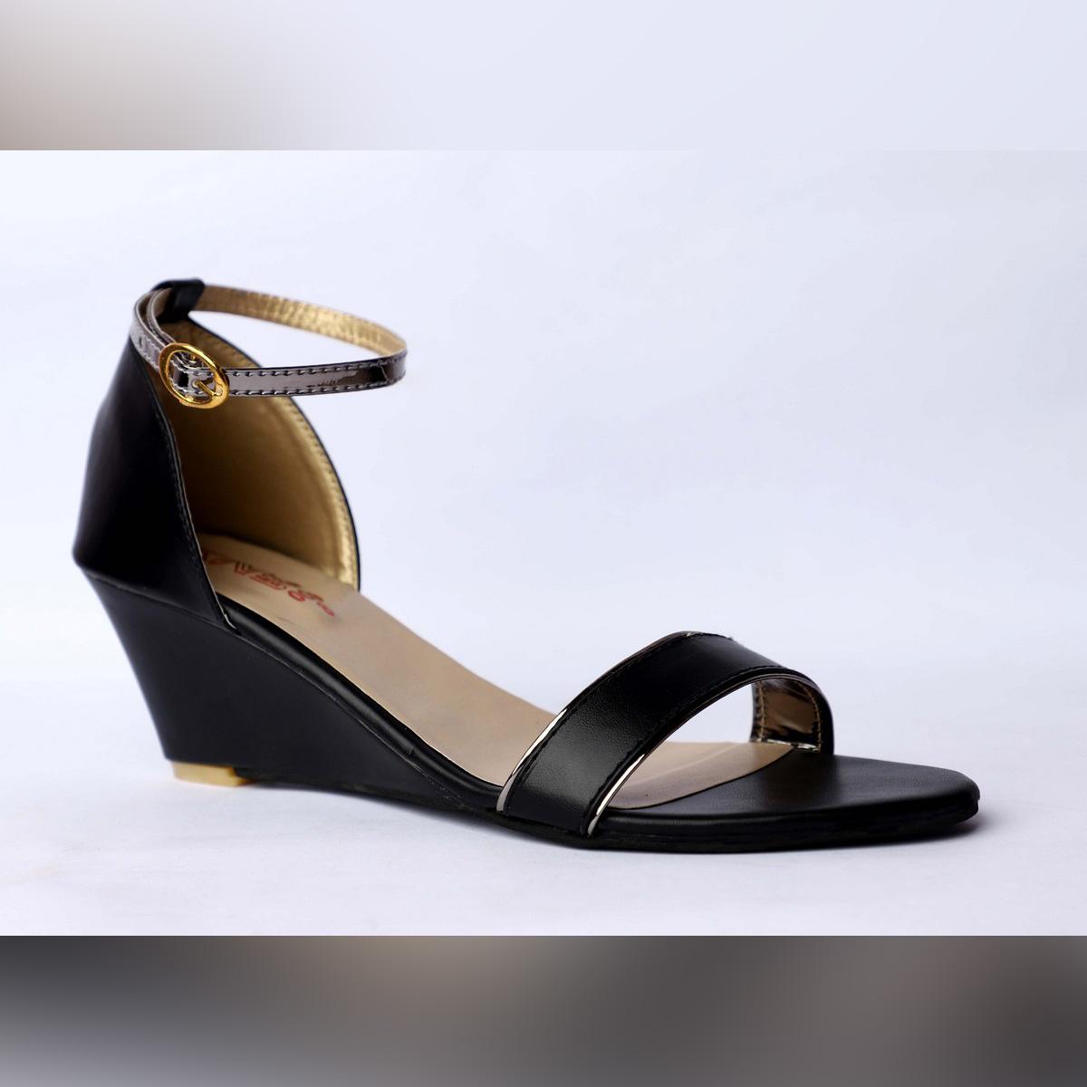 Women Fashion Wedge Sole Heel Sandal Summer Fashion Party Wear, Casual
