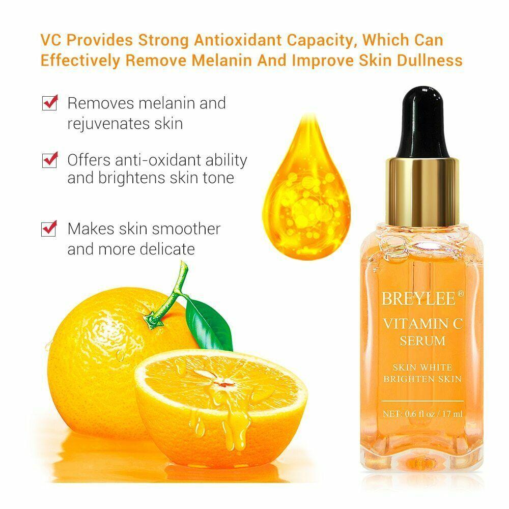 Vitamin C Serum Brightening Serum Face Skin Care Anti-Aging Serum(17Ml, 0.6Fl Oz)