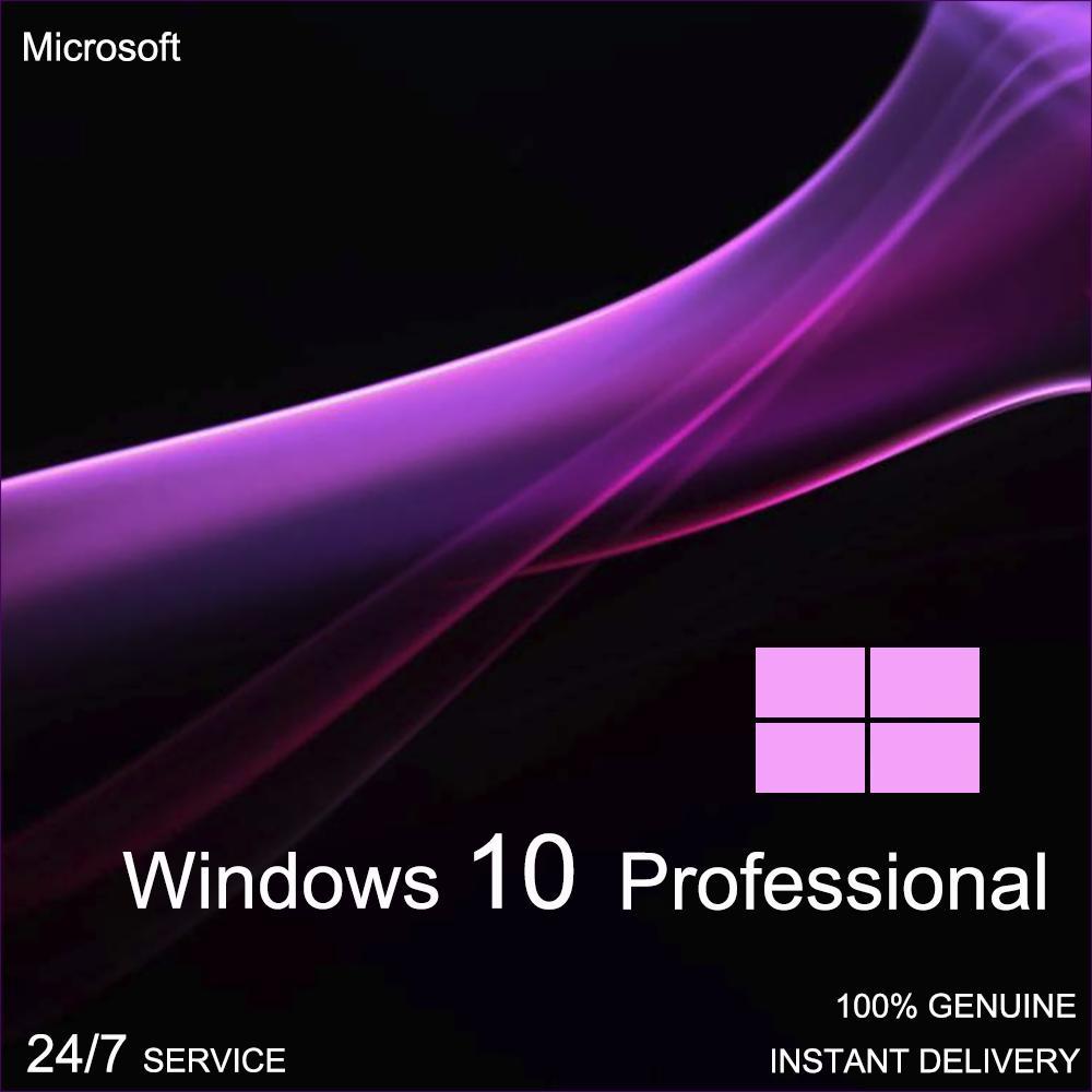 Instant Windows 10 Professional Pro 32 /& 64 BIT Activation Code License Key