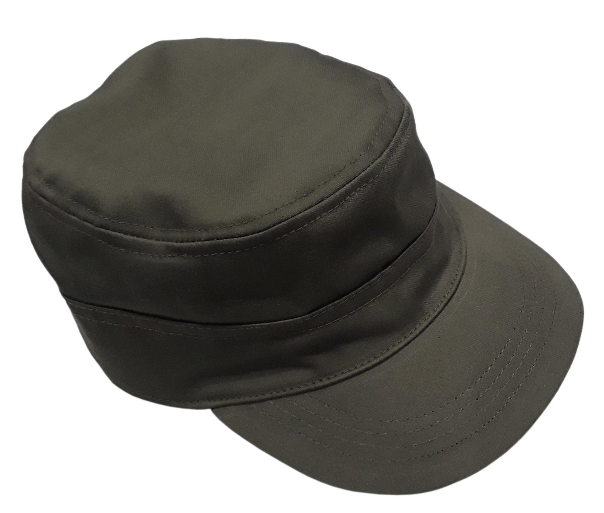 e9b66b42d Men Unisex Vintage Military Cotton Flat Hats Ourdoot Sports Adjustable Cap  - Army Green