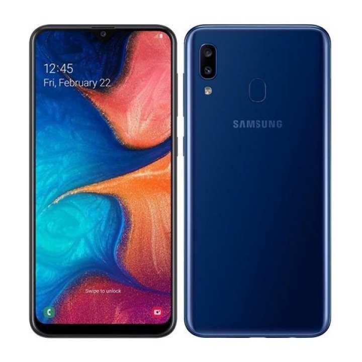 "Samsung Galaxy A20 Mobile Phone - 6.4"" FHD Display - 3GB RAM - 32GB ROM - Fingerprint Sensor"