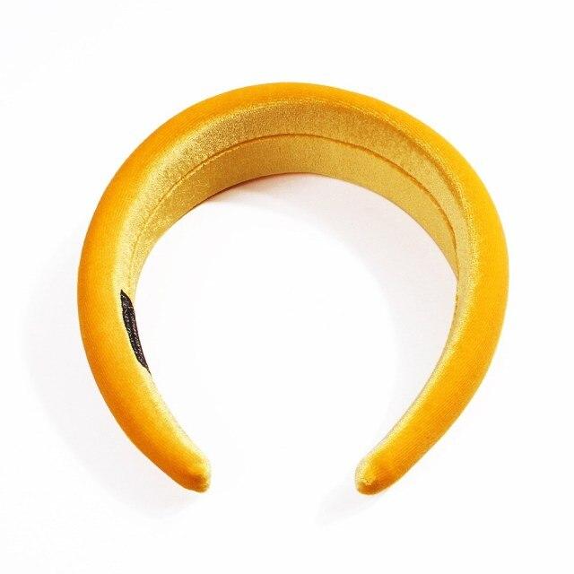 Velvet Sponge HairBand Adjustable for all 5cm wide 1.7cm Hair Millinery