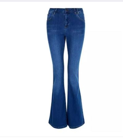 Flared Boot Cut Bell Bottom Jeans for Women