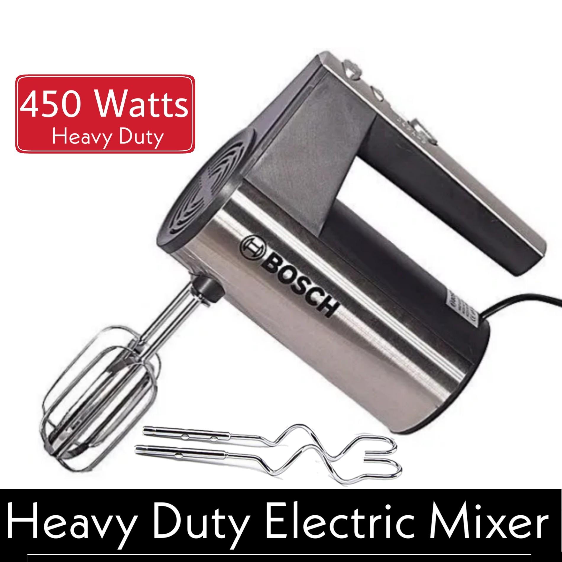 [Heavy Duty] Metallic Electric Hand Beater Machine - Hand Blender Mixer