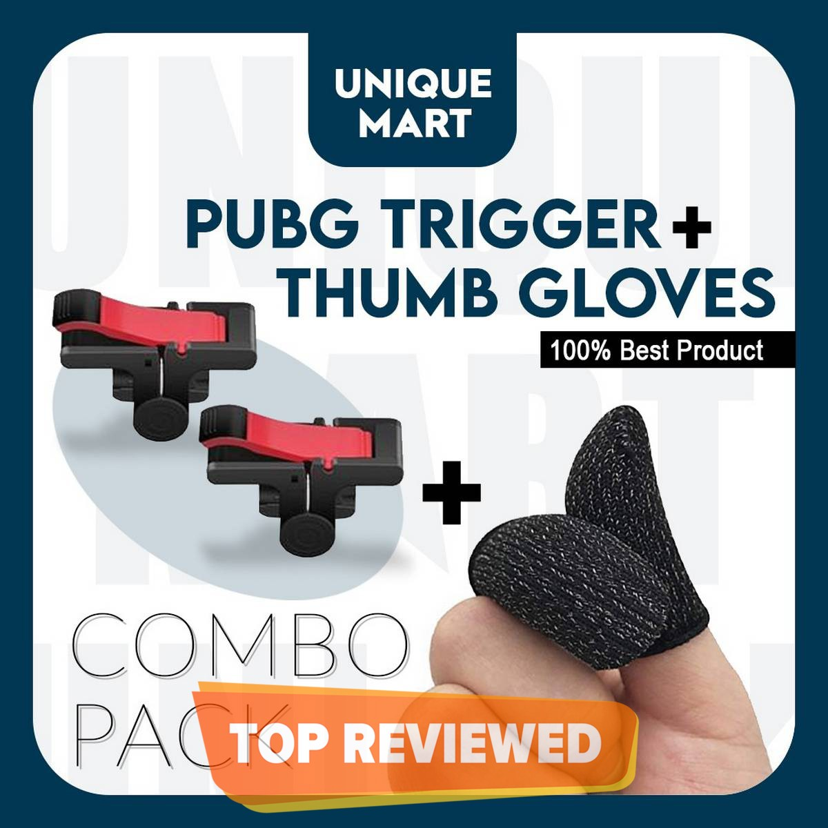 D9 Trigger Triger Fire Button L1R1 + Thumb Gloves Sleeves Touch Screen Finger Breathable For Mobile Controller Gamepad