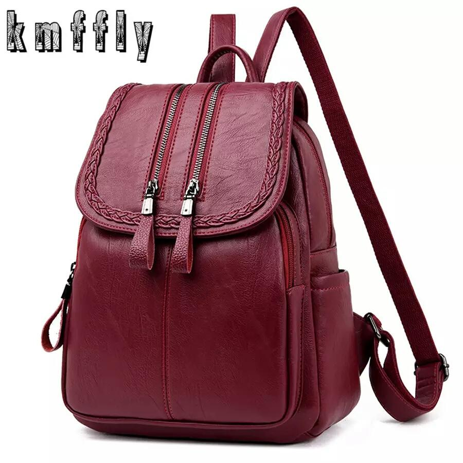 fd36addcb33 FANCY PU LEATHER BACKPACK FOR GIRLS