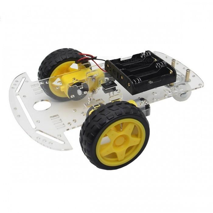2WD SMART ROBOT CAR CHASSIS KIT 2 WHEEL Student Projects