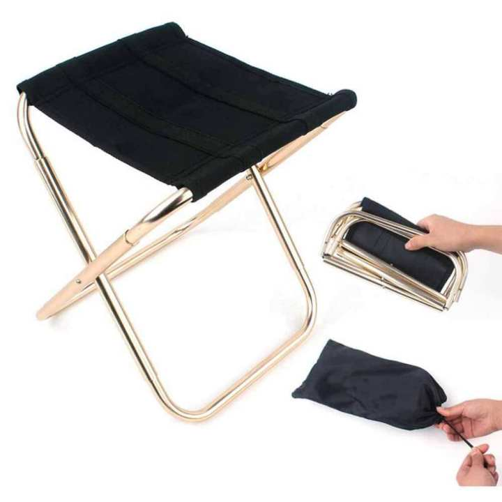 Portable Folding Camping Stool Chair