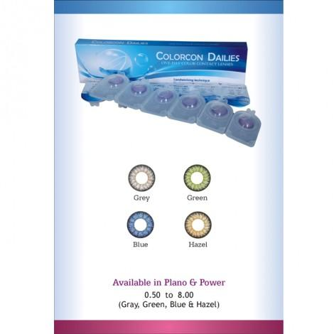 e7b6077c676 ColorCon Dailies One-Day Color Contact Lenses - Blue  Buy Sell Online    Best Prices in Pakistan
