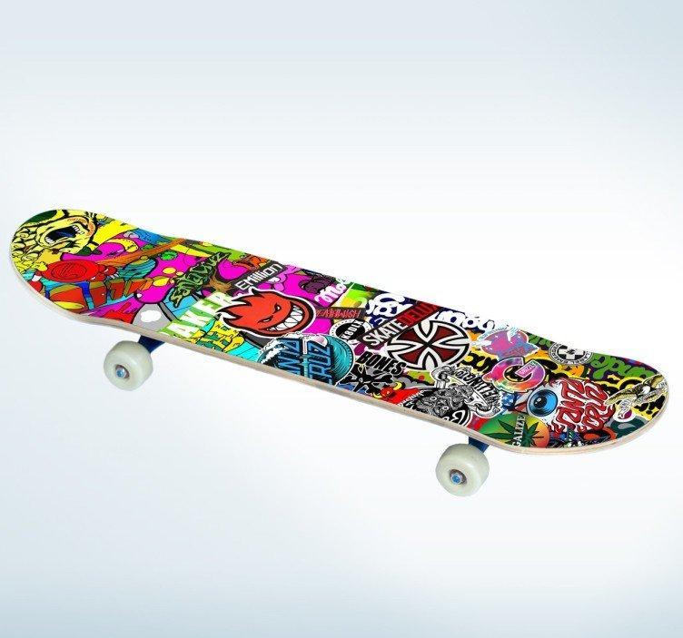 Skate Board Multicolor