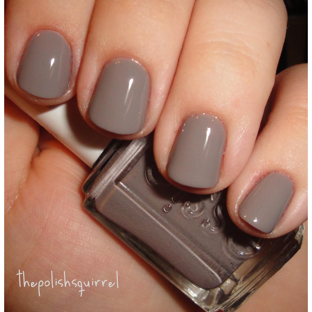 1 piece grey colour nail polish