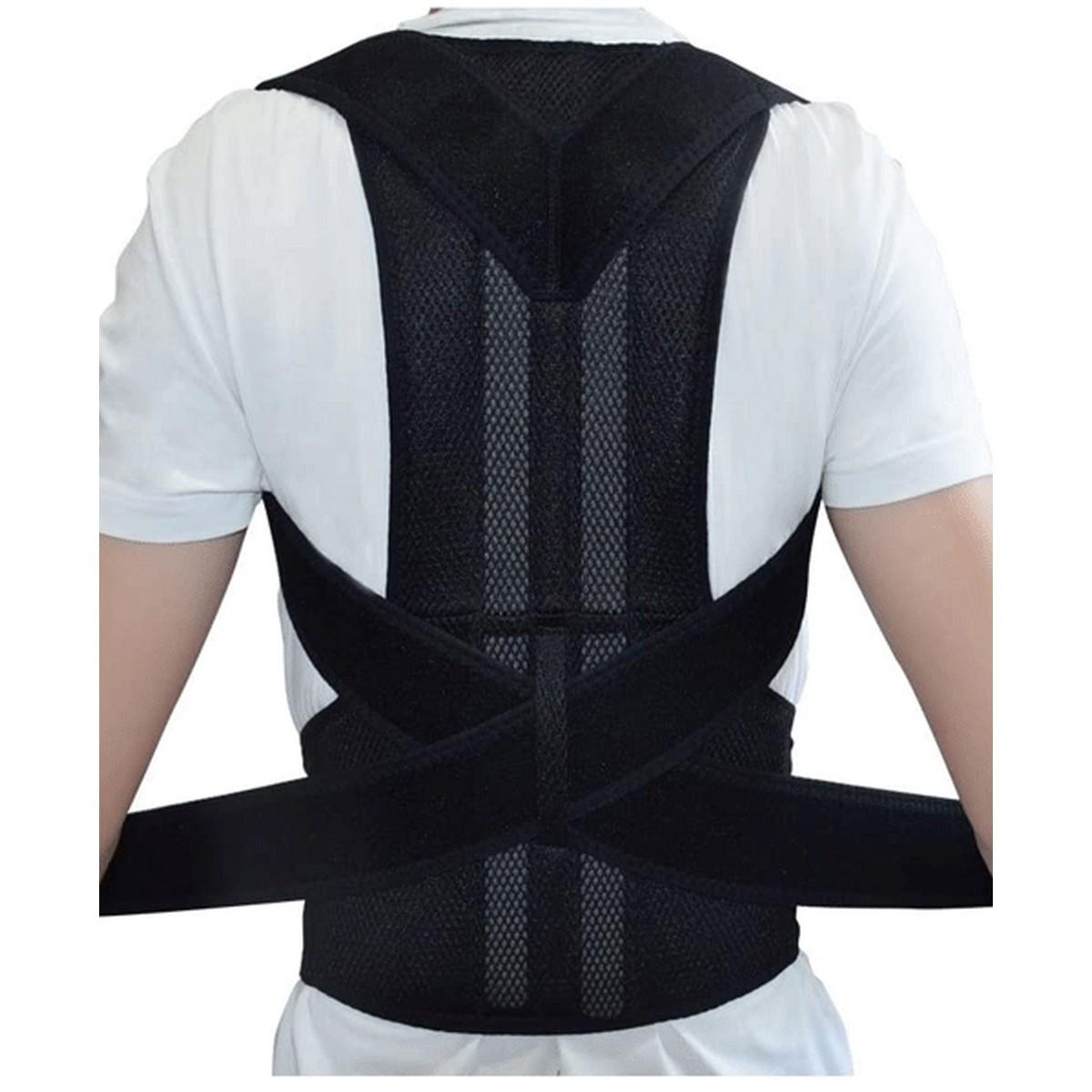Magnetic Therapy Posture Corrector Brace Shoulder Back Support Belt for Men Women
