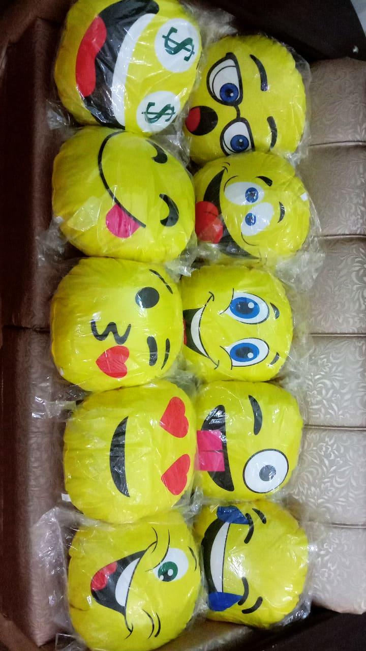 Assorted Emoji Soft Pillows Stuffed Cushion Round Home Decor