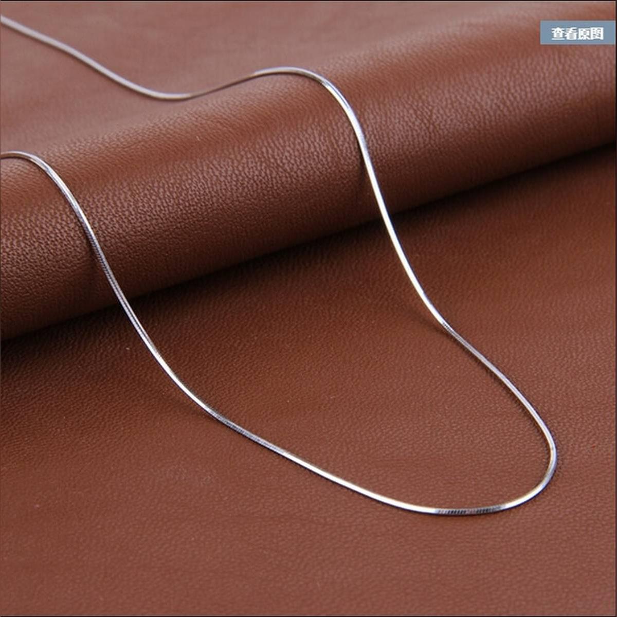 American Style Silver Trendy New Design Neck Chain For Men