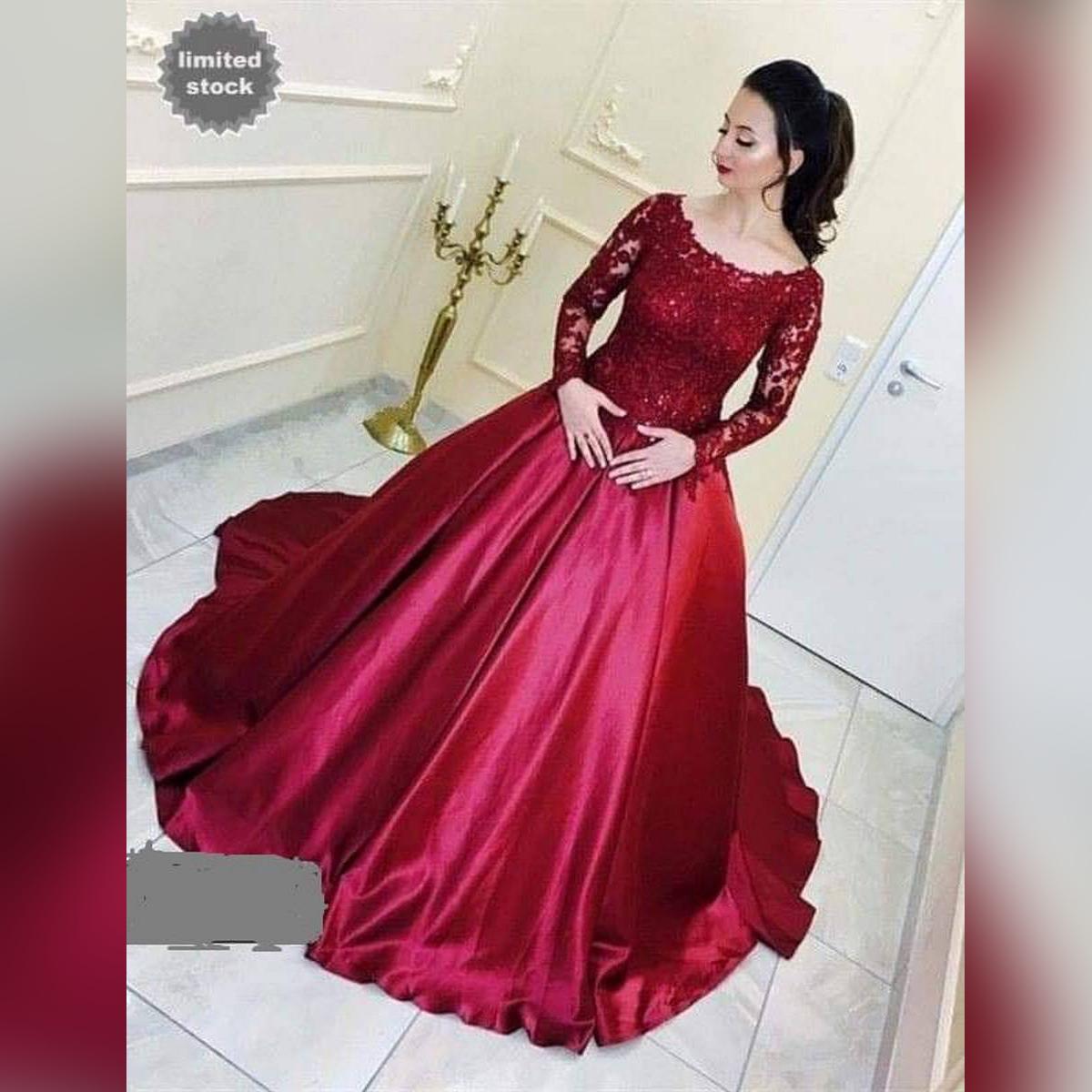 Evening maxi dress. 2020