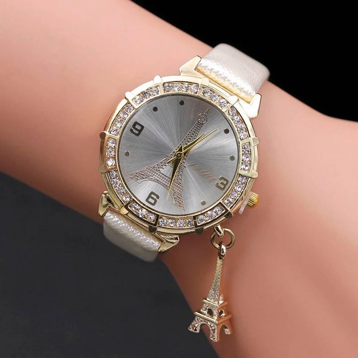 Casual Wrist Watch Ladies Women Romantic Perfect Girls Gift